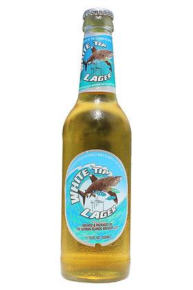 White Tip Lager 330ml Bottles in a 24 Case