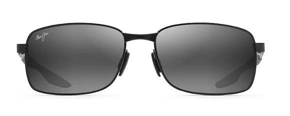 MAUI JIM SHOAL Polarized Rectangular Sunglasses