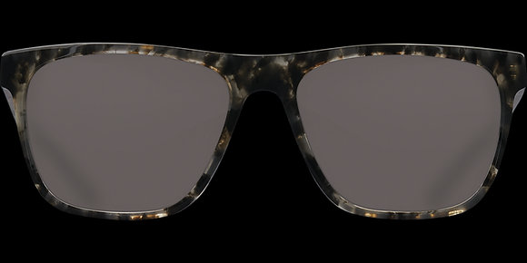 COSTA DEL MAR APALACH SHINY BLACK KELP/GRAY SUNGLASSES