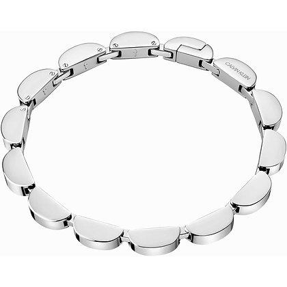 CALVIN KLEIN Wavy Small Stainless Steel Bracelet