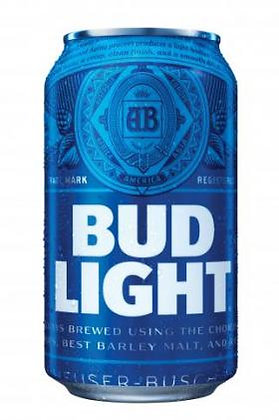Bud Light 355ml Cans in a 24 Pack