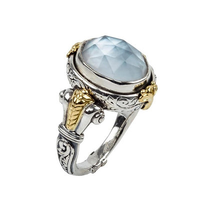 Konstantino Mother of Pearl Doublet Ring