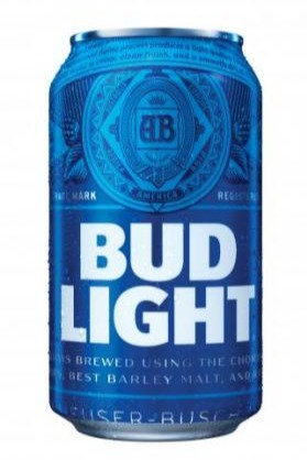 Bud Light 355ml Cans in a 6 Pack
