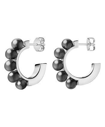 CALVIN KLEIN Circling Stainless Steel Earrings