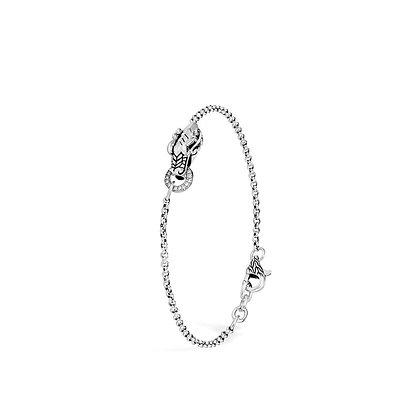 JOHN HARDY Legends Naga Charm Bracelet with Diamonds