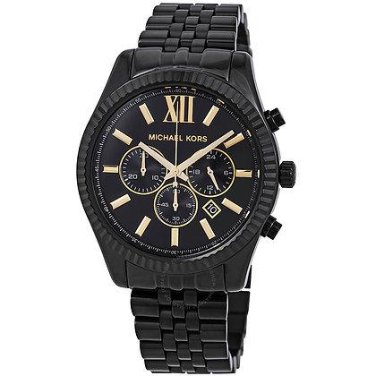 MICHAEL KORS  Lexington Black Men's Watch