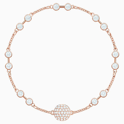 SWAROVSKI Remix Collection Carrier, White, Rose-gold tone plated