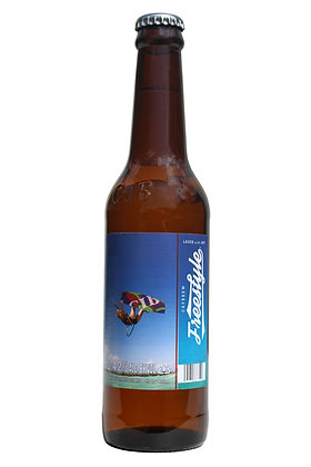 Freestyle Lager 330ml Bottles in a 24 Case