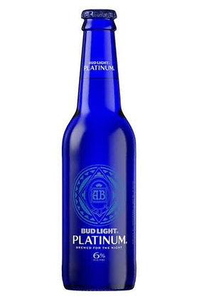 Bud Light Platinum 355ml Bottles in a 24 Pack