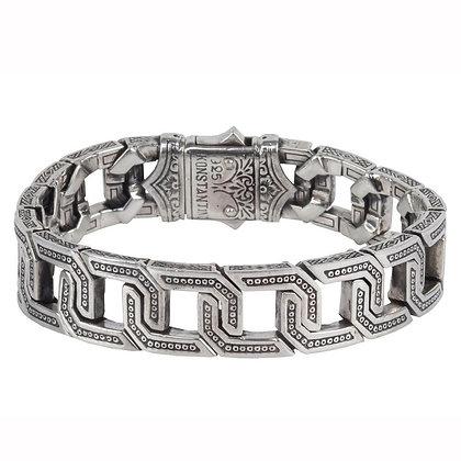 Konstantino  Etched Link Bracelet
