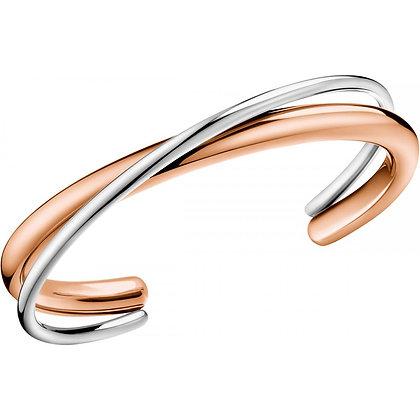 CALVIN KLEIN Double Stainless Steel Bracelet