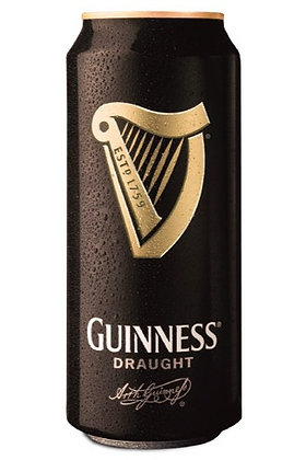 Guinness Draught 400ml Cans in a 4 Pack