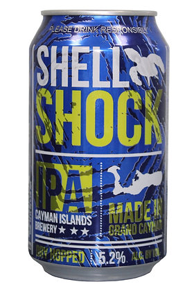 Shell Shock IPA 335ml Cans in a 24 Case