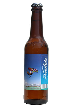 Freestyle Lager 330ml Bottles in a 6 Pack