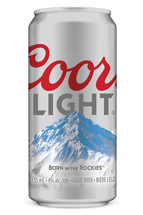 Coors Light 12 pack 355ml Cans