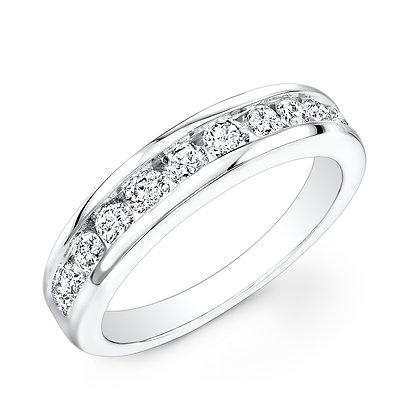 Diamond Ring Channel Set