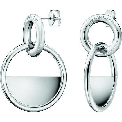 CALVIN KLEIN Ladies Locked Stainless steel Earrings