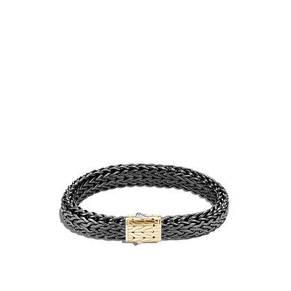 JOHN HARDY Classic Chain Blackened Bracelet M 11mm