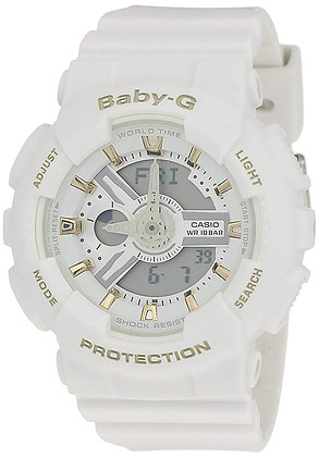 CASIO BABY G WATCH WHITE