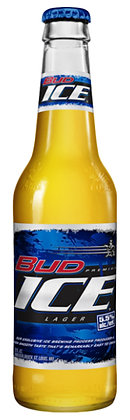 Bud Ice 355ml Bottles in a 24 Pack