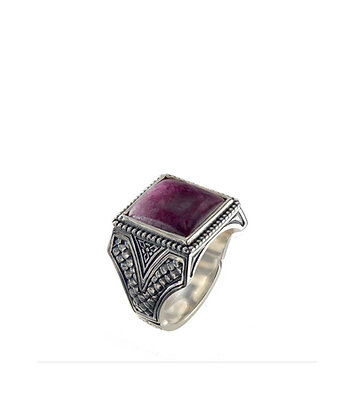 Konstantino Ruby Root Ring