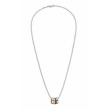 CALVIN KLEIN Gorgeous Stainless Steel Multicolour pendant Necklace