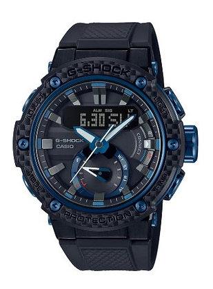 CASIO G-SHOCK G STEEL IN BLACK/BLUE
