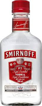 Smirnoff 80 Proof 200ml