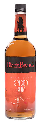 Blackbeard's Spiced Rum 1L