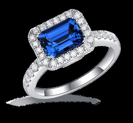 BELLANITA 14K White Gold Twist Ring