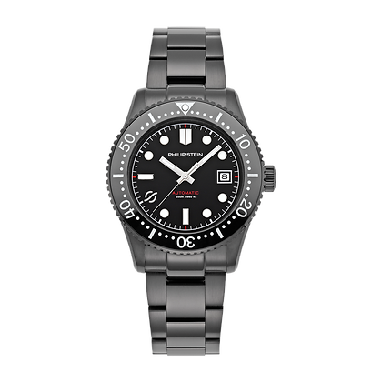 PHILIP STEIN Automatic-41mm-Black Dial-All
