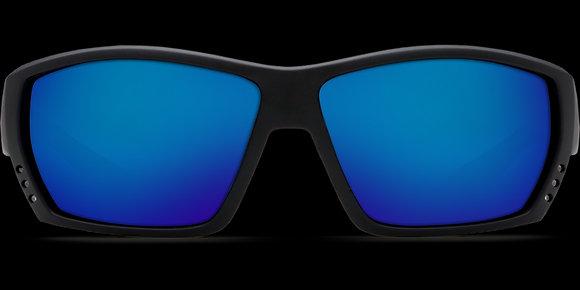 COSTA DEL MAR TUNA ALLEY Blackout/Blue Mirror  SUNGLASSES