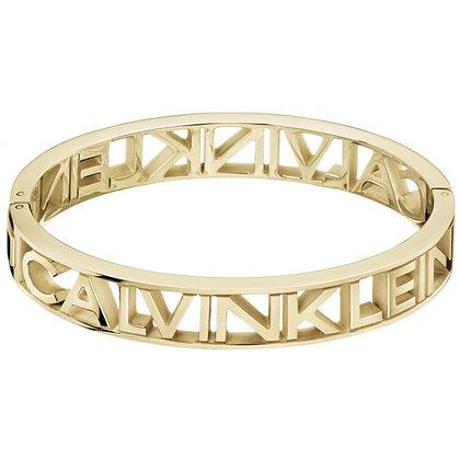 CALVIN KLEIN Jewellery Mania Gold Bangle