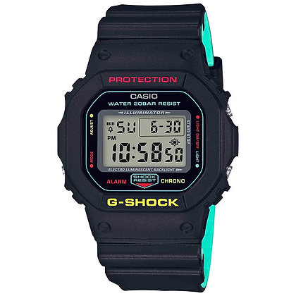 CASIO G-SHOCK Black Special Colour Model G-SHOCK DW-5600CMB-1DR