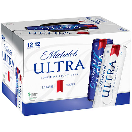 Michelob Ultra 12 pack 355ml Cans