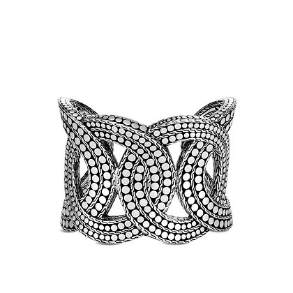 JOHN HARDY Dot Cuff M 51.5mm