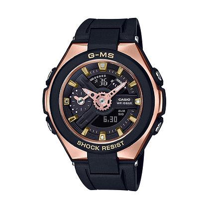 CASIO BABY-G Analog-Digital Black Dial Women's Watch