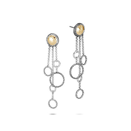 JOHN HARDY Classic Chain Hammered Chandelier Earring