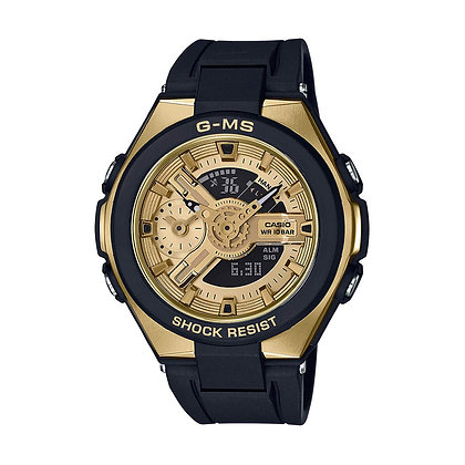 CASIO BABY-G Analog-Digital Gold Dial Women's Watch