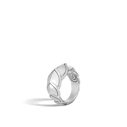 JOHN HARDY Legends Naga Silver Small Ring Sz 7