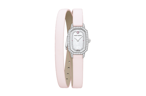 HARRY WINSTON Emerald White and Pink