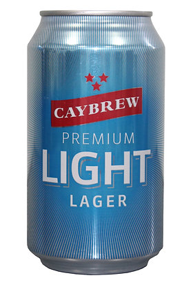 Caylight lager 335ml Cans in a 24 Case