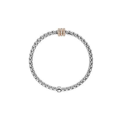 FOPE Eka Tiny Flex'it bracelet with diamond