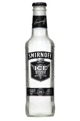 Smirnoff Ice Black 300ml Bottles in a 6 Pack