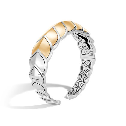 JOHN HARDY Legends Naga 18K Gold And Silver Medium Flex Cuff