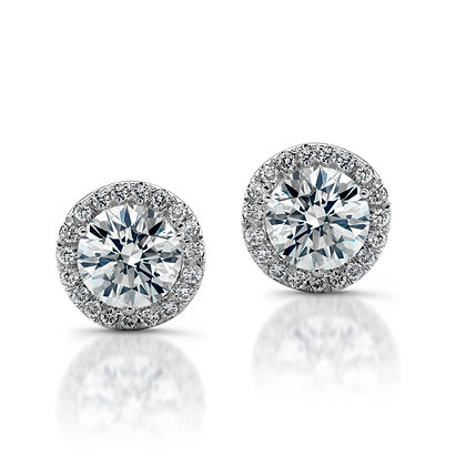 Micro Pave Diamond Earring