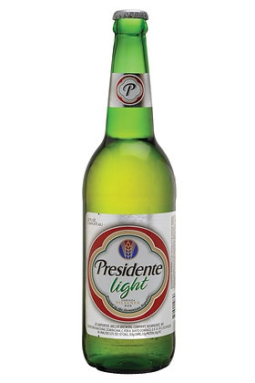Presidente Light Beer 355ml Bottles in a 6 Pack