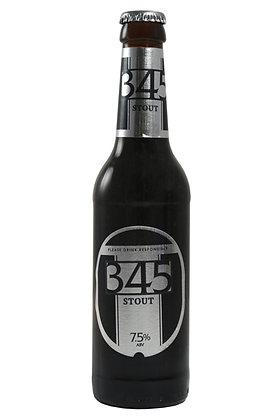 345 Stout 330ml Bottles in a 24 Case