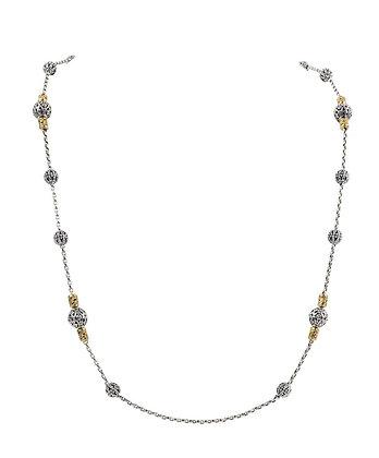 Konstantino Cosmos Rosary Wrap Necklace