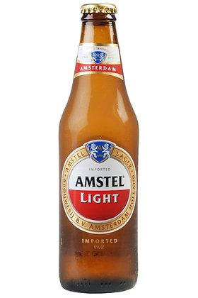 Amstel Light 355ml Bottles in a 24 Pack